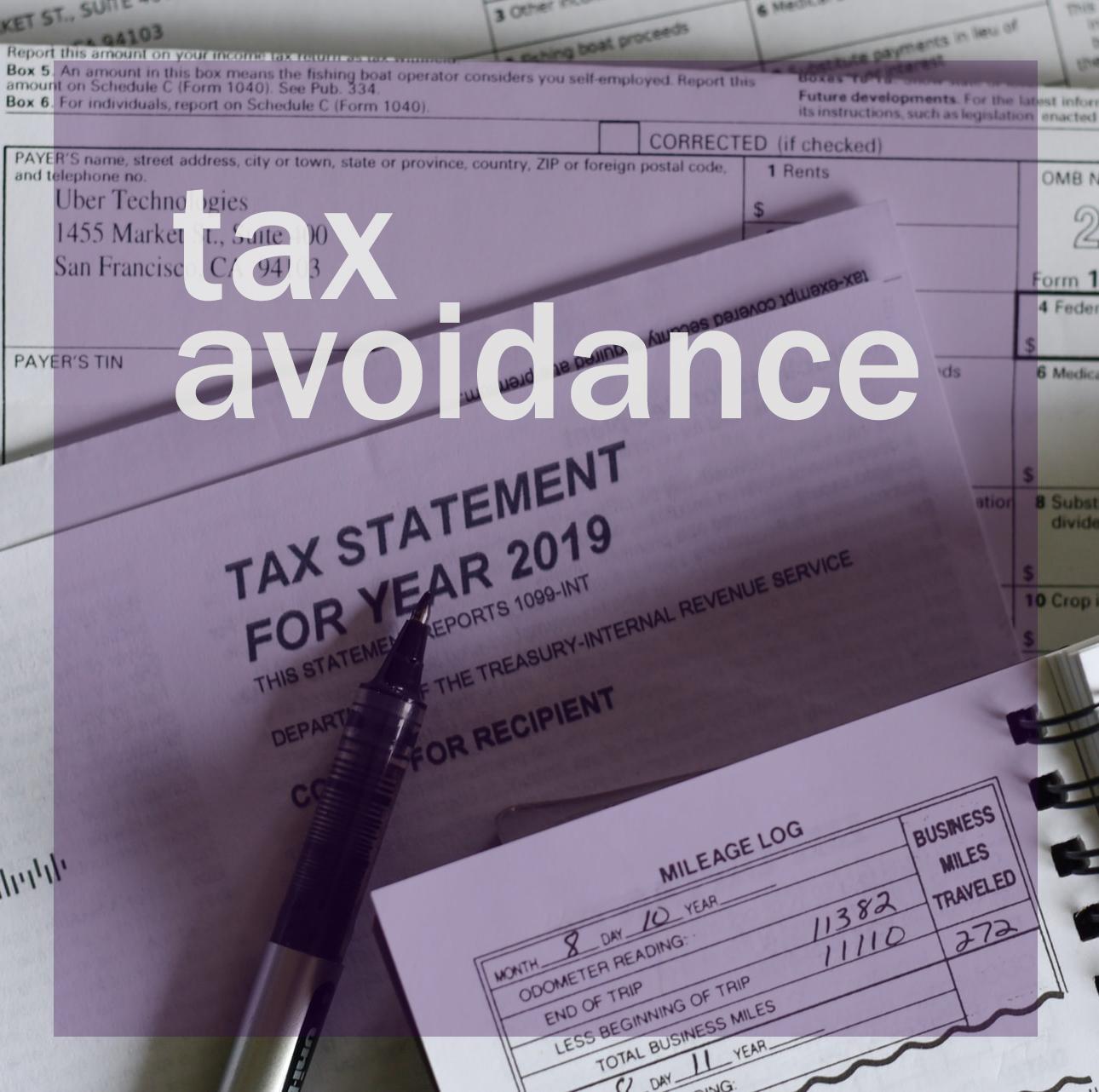 Tax Avoidance atau Penghindaran pajak